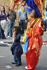 DSC_0340 (AngelasTravels) Tags: show costumes england people music london beautiful children freedom community women colours message dancing skin body traditions parade cameras displays caribbean nottinghillcarnival floats peoplewatching opportunities extrovert photoshots