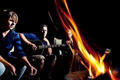 S'mores (JMaverickStudios) Tags: camp black guy adam broken glass fire cool toe mask mud howard nail lisa rob short gore stare filipino smashed marshmellows scantland stubbed tonse