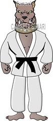 desenho foto lutador pitbull luta marcial