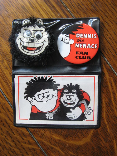 Next Comic Question Who Was In The Dennis The Menace Fan Club