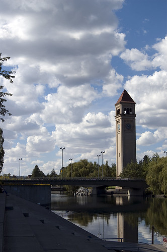 Riverfront Park Clock Tower