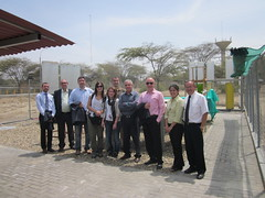 Sweethanol delegation at University of Piura, Peru