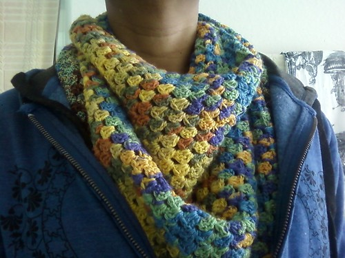 Close up of shawl/scarf