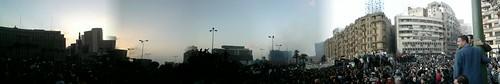 Sunset over Tahrir Square | الغروب في ميدان التحرير
