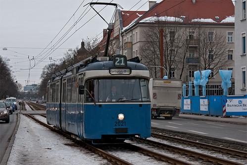 P-Wagen 2021 war heute — wieder solo — an der Lothstraße unterwegs.