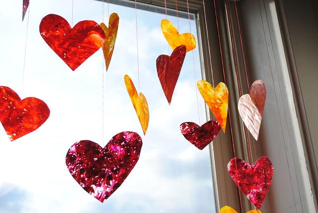 Crayon Hearts II