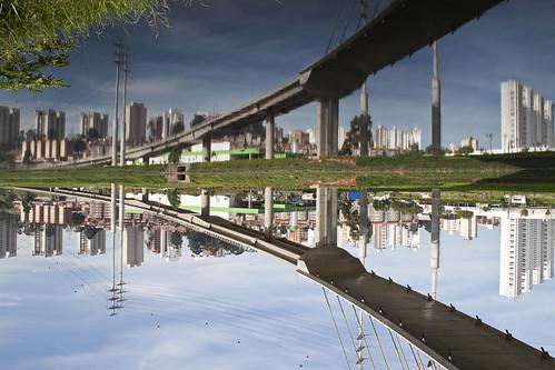 Ponte Estaiada - Ciclovia Marginal Pinheiros by victorguidini