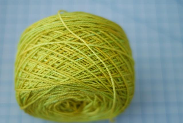 "madelinetosh/tosh sock in ""maple leaf"""