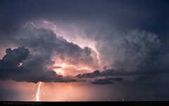 Strike! (Matt Granz Photography) Tags: cloud storm oklahoma weather night nikon nuvole wolken tokina nubes tormenta lightning nuages blitz  bulutlar lyn 1224mm thunder skyer  artland donner salama vihar tempesta tempte pilvet sturm moln tuono  felhk chmury burza fulmine d90  yldrm mraky  foudre myrsky   blesk       villm byskawica mkoi  frtna  vtra zibens  boue  prkons