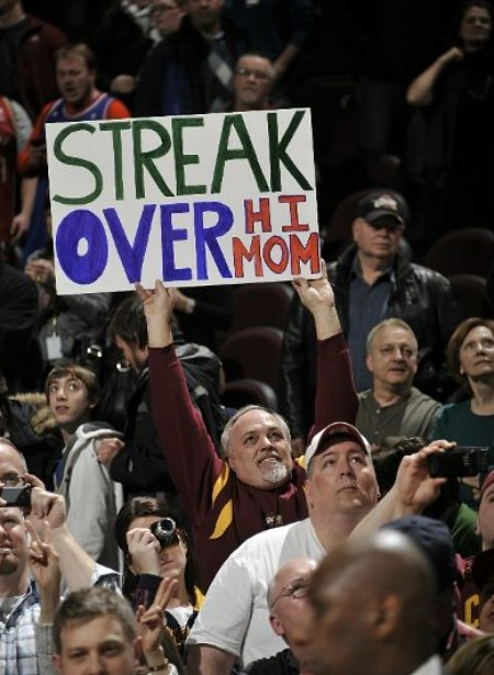streak over