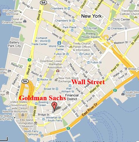 Wall Street Goldman Sachs