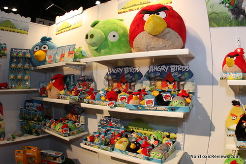 Angry Birds plush and accessories