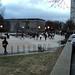Strange improv dance event on campus