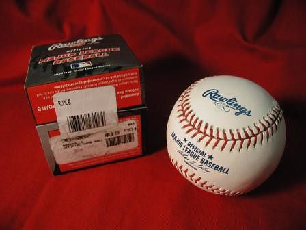 MLB baseball bought in U.S. for $17