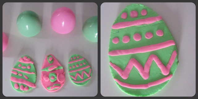 Play-Doh Easter Egg Magnets