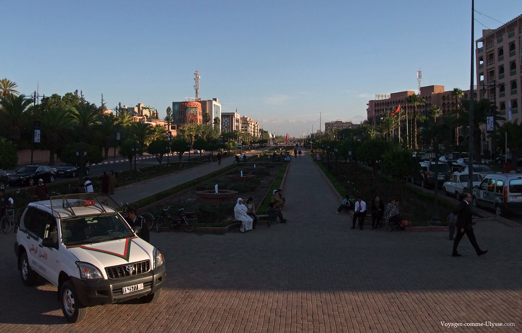Fabuleuse avenue Mohammed VI