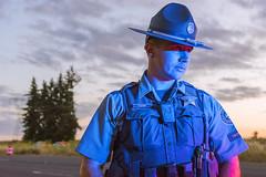 OSP Trooper Yoder (OregonDOT) Tags: oregondot oregonstatepolice kniferivercorporation workzone workzonesafety construction oregon odot safety patrol enforcement police woodburn interstate5 i5