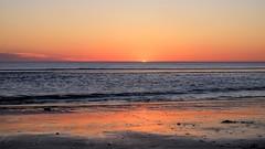 Sunset (Isa-belle33) Tags: sunset sun soleil ocean sea mer eau water waves vagues fuji fujifilm fujixt1 colors couleurs sky ciel reflet reflection reflect reflexion