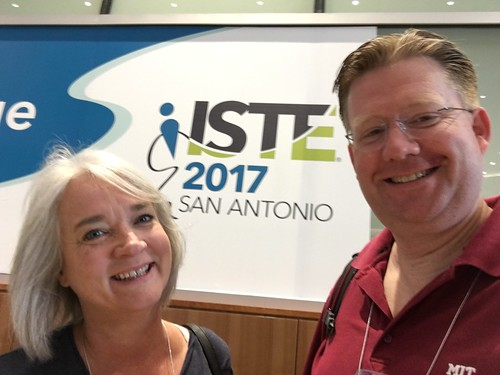 Shelly and Wesley Fryer at ISTE 2017 (Sa by Wesley Fryer, on Flickr