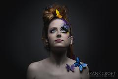 _M3_9718#### (FrankCroft) Tags: albacete fashion portrait retrato mariposas butterflies redhead pelirroja frankcroft