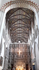 St Albans Cathedral chancel ceiling, Hertfordshire (Pjposullivan1) Tags: stalbanscathedral stalbans cathedral anglican chancel reredos ceiling