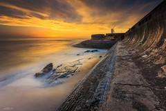 Praia da Granja, Sunset (paulosilva3) Tags: sunset colors sea blue water canon eos 6d progrey filters usa granja praia portugal