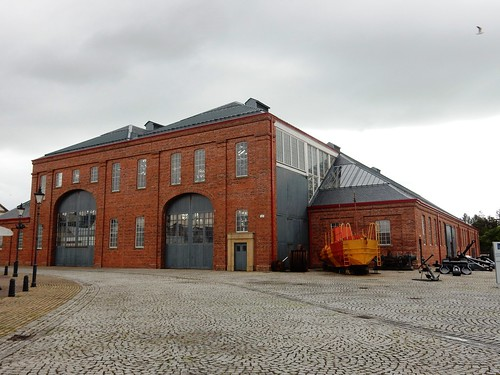 Cathedral of Engineering, the former Linthouse shipyard building