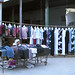 Clothing stall - Turpan