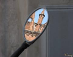 """Da un altro punto di vista (*kikka83*) Tags: city italy italia mantova reflexions riflessi citta specchio riflesso particolare specchi circolofotograficopaullese """"nikonflickraward"""""""