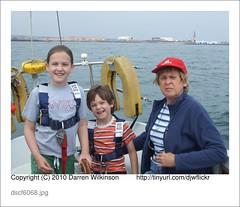 Sailing (Darren Wilkinson) Tags: kids bay sailing grandparents tarka hartlepool