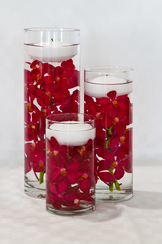 Submerged Flower Centerpiece