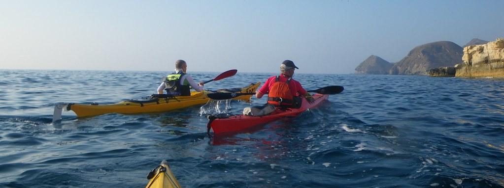 Cabo de Gata en kayak 286