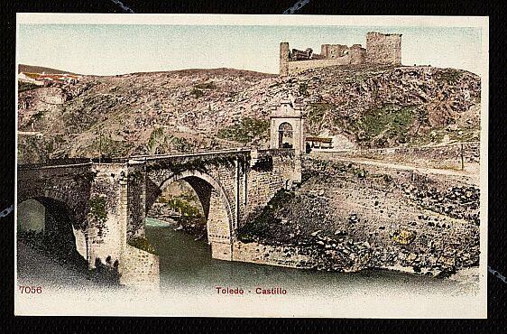 Castillo de San Servando hacia 1904