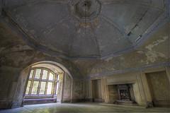 Dome Room (shando.) Tags: urban abandoned canon manor exploration derelict abandonment ux dereliction ue urbex shando eos500d wwwtalkurbexcom