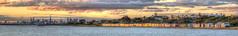 25 photos later (J-C-M) Tags: sunset panorama beach water skyline clouds marina photoshop bay sand nikon brighton cityscape victorian australia melbourne victoria boxes d200 bathing brightonbeach hdr topaz portphillip bathingboxes photomatix brightonbeachbathingboxes beachbathingboxes