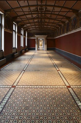 Neues Museum Berlin Restaurierung Mosaiken