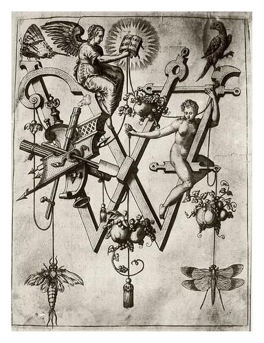 021-Letra W- La verdad-Neiw Kunstliches Alphabet 1595- Johann Theodor de Bry