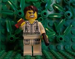 LEGO WWII GI ('Moon') Tags: gun lego wwii gi