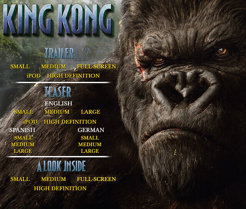 4742620969 ebc0c81819 Apple Offers King Kong Movie Trailer in iPod Format
