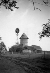Windmill in Creton - August 1944 (johntrathome) Tags: france windmill radio trevor wwii gerald ww2 roberts mast raf secondworldwar creton 2ndtaf 124wing