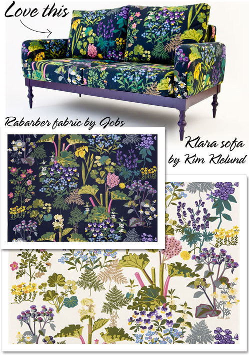 Klara sofa by Kim Klelund