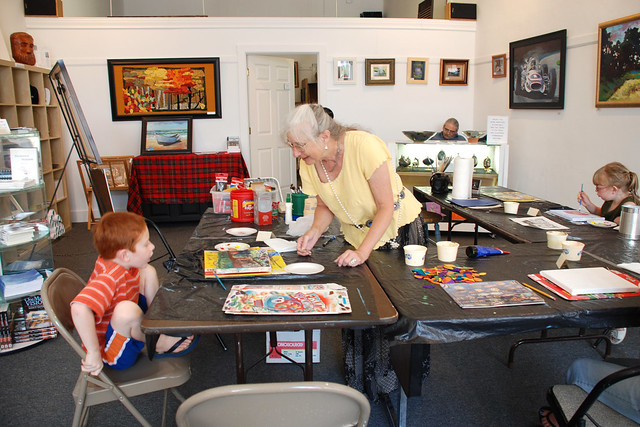 Art Class at the Arts Place in Hagerstown