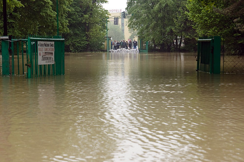 powódź na działkach maj 2010