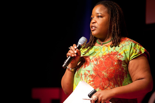 Farai Chideya - Our lovely MC - TEDx Oil Spill - Washington, DC