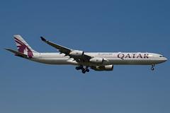 A7-AGC - 766 - Qatar Airways - Airbus A340-642 - 100617 - Heathrow - Steven Gray - IMG_4596