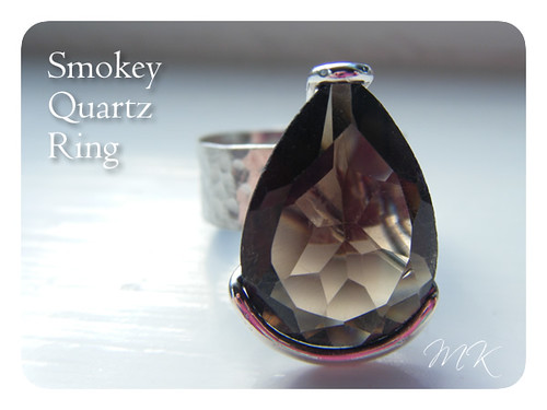 smokey quartz ring 1