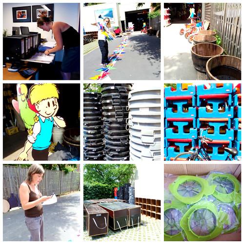 week voor zomer collage