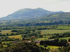 malvern hills in heat haze (suesviews) Tags: family england out haze day hills heat malvern worcestershire distant 290610