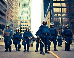 (MatteoMencarelli) Tags: toronto canada canon police xsi riotpolice g20 sigma18200dc 450d canoneosdigitalxsi canoneosdigital450d g20toronto