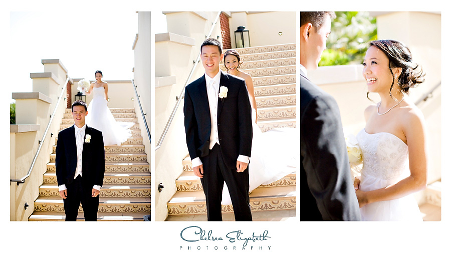 Terranea Resort Wedding Photographer Bride and Groom